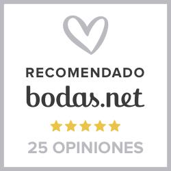 Establecimiento recomendado por Bodas.net
